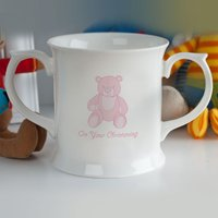 Personalised Christening Mug - for Girls