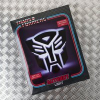 Transformers Night Light - Transformers Gifts