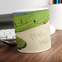 Personalised Mug - Golf Bunker - Golf Gifts