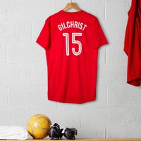Personalised Adult Official Arsenal Football Top - Gadgets Gifts