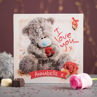 Personalised Me To You Belgian Chocolates – Tatty Teddy I Love You - Tatty Teddy Gifts