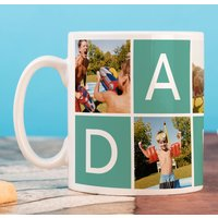 Photo Upload Mug - 5 Photos, Daddy - Photos Gifts