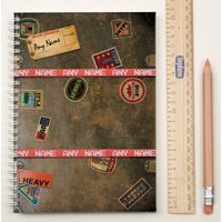 Personalised Notebook - Travel Case - Travel Gifts