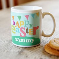 Personalised Easter Mug - Happy Easter
