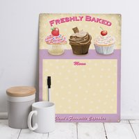 Personalised 'Favourite Cupcakes' Memo - Cupcakes Gifts