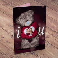 Photo Upload Me To You Card - I Heart You - Me To You Gifts