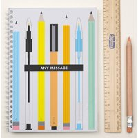 Personalised Notebook - Teacher's Pens - Pens Gifts