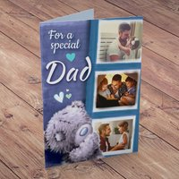 Photo Upload Me To You Card - 3 Photos, Special Dad - Photos Gifts