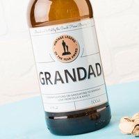 Personalised Beer - Vintage Legend Of The Year - Beer Gifts