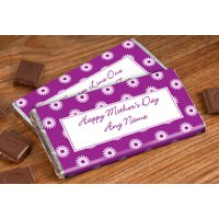 Personalised Chocolate Bar - Happy Mother's Day