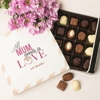 Personalised Belgian Chocolates - Love & Chocolate - Chocolates Gifts