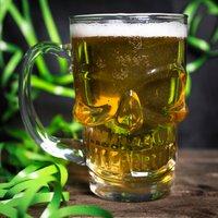 Skull Pint Glass - Skull Gifts
