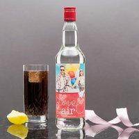 Photo Upload Vodka - Love Is In Air - Vodka Gifts