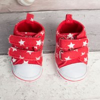 Personalised Baby Shoes - Stars