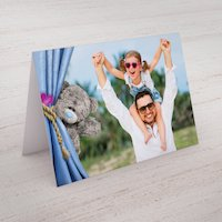 Photo Upload Me To You Card - Daddy Curtain - Me To You Gifts
