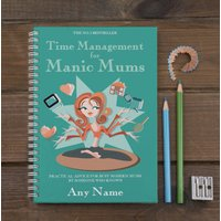 Personalised Notebook - Manic Mums