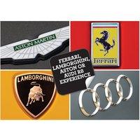 Ferrari, Lamborghini, Aston or Audi R8 Experience - Audi Gifts