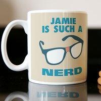Personalised Mug - Nerd - Nerd Gifts