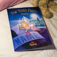 Personalised Book - The Tooth Fairy Story - Book Gifts