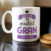 Personalised Mug - Greatest Grandma