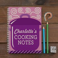 Personalised Notebook - Cooking Pot - Cooking Gifts