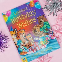 Personalised Story Book - Birthday Wishes - Book Gifts