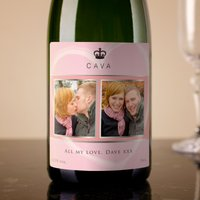 Photo Upload Cava - Pink, 2 Photos & Message - Photos Gifts