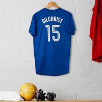 Personalised Adult Official Chelsea Football Top - Football Gifts