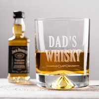 Personalised Whisky Tumbler & Jack Daniel's Miniature - Whisky - Getting Personal Gifts
