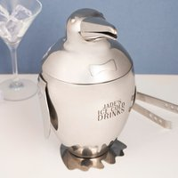 Personalised Emperor Penguin Ice Bucket - Any Message - Penguin Gifts