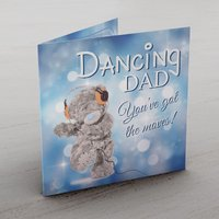 Personalised Me To You Card - Dancing Dad - Dancing Gifts