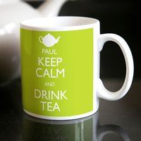 Personalised Mug - Keep Calm and Drink Tea