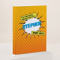 Personalised Diary - Awesome Adventures - Diary Gifts