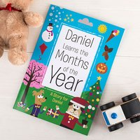Personalised Book - Months of the Year - Books Gifts
