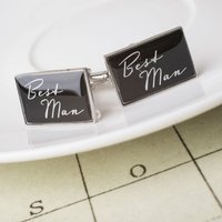 Best Man Cufflinks - Best Man Gifts