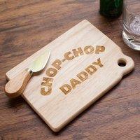 Personalised Mini Chopping Board - Chop-Chop! - Chopping Board Gifts