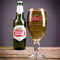 Personalised Authentic Stella Glass - Stella Gifts