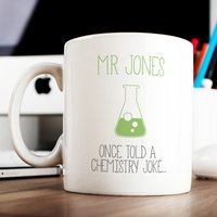 Personalised Mug - Chemistry Joke - Chemistry Gifts