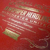 Personalised Manchester United Football Book - Football Gifts