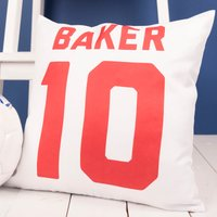 Personalised Cushion - Football - Football Gifts