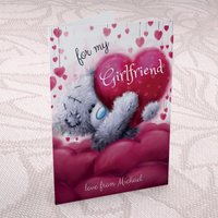 Personalised Me to You Card - For My Girlfriend - Girlfriend Gifts