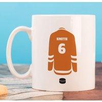 Personalised Mug - Hockey Jersey - Hockey Gifts
