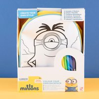 Minions Colour Your Own Backpack - Colour Gifts
