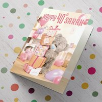 Personalised Me To You Card - 40 Stack of Presents - Presents Gifts
