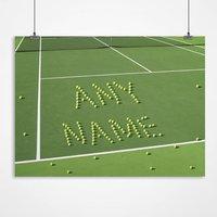 Personalised Tennis Balls Print - Tennis Gifts