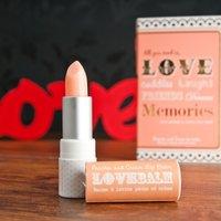 Love Lip Balm Gift Card - Peaches & Cream - Lip Balm Gifts