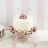 Vintage Lace - Mr & Mrs Cake Bunting Ivory - Ivory Gifts