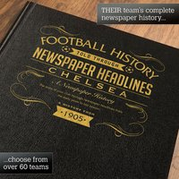 Personalised Chelsea Football Book - Football Gifts