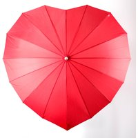 Red Heart Umbrella - Umbrella Gifts