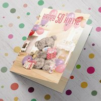 Personalised Me To You Card - 50 Stack of Presents - Presents Gifts